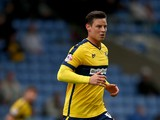 Will Hoskins of Oxford United during the Sky Bet League Two match between Oxford United and Dagenham & Redbridge at Kassam Stadium on August 30, 2014
