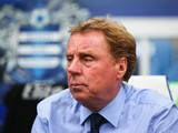 Harry Redknapp, manager of QPR looks on during the Barclays Premier League match between Queens Park Rangers and Stoke City at Loftus Road on September 20, 2014
