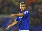 Stephen Gleeson of Birmingham City in action during the Capital One Cup second round match between Birmingham City and Sunderland at St Andrews (stadium) on August 27, 2014