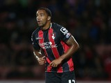 Callum Wilson of AFC Bournemouth in action during the Capital One Cup Second Round match between AFC Bournemouth and Northampton Town at Goldsands Stadium on August 26, 2014