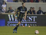 Ryan Mason #38 of Tottenham Hotspur looks to pass during the second half against the Chicago Fire at Toyota Park on July 26, 2014