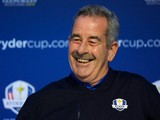 Sam Torrance, European Ryder Cup Vice-Captain is pictured during a Ryder Cup Press Conference on March 06, 2014