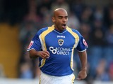 Trevor Sinclair of Cardiff City during the FA Cup Fifth Round match sponsored by E.on between Cardiff City and Wolverhampton Wanderers at Ninian Park on February 16, 2008