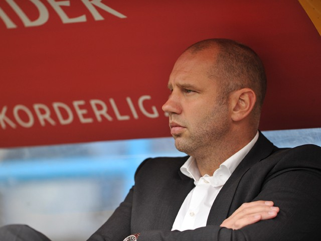 Charlton Athletic Manager Bob Peeters before the Sky Bet Championship match between Huddersfield Town and Charlton Athletic at Galpharm Stadium on August 23, 2014