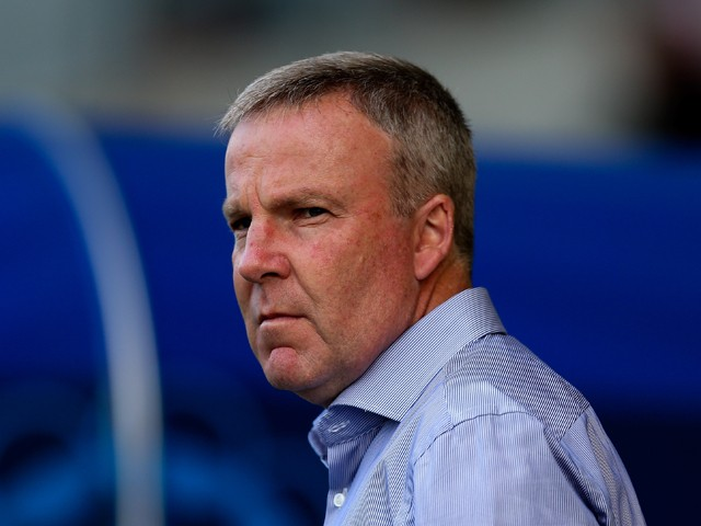 Wolves manager Kenny Jackett looks on prior to the Pre Season Friendly match between Oxford United and Wolverhampton Wanderers at Kassam Stadium on July 29, 2014