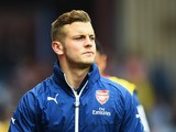Jack Wilshere of Arsenal looks on prior to the the Barclays Premier League match between Aston Villa and Arsenal at Villa Park on September 20, 2014