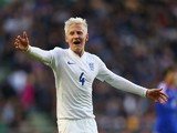 Will Hughes of England during the UEFA U21 Championship Playoff First Leg match between England and Croatia at Molineux on October 10, 2014