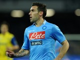 Anthony Reveillere of Napoli during the Serie A match between SSC Napoli and AC Chievo Verona at Stadio San Paolo on January 25, 2014
