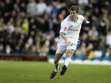 Ben Parker of Leeds United in action during the Coca Cola League One Match against Northampton Town at Elland Road on January 5, 2008
