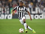 Patrice Evra of Juventus in action during the UEFA Champions League Group A match between Juventus and Malmo FF on September 16, 2014