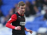 Paul Dixon of Huddersfield Town in action during the Sky Bet Championship match between Birmingham City and Huddersfield Town at St Andrews (stadium) on February 15, 2014