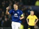 Everton's English defender Phi