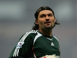 Pavel Srnicek of Newcastle during the Barclays Premiership match between Bolton Wanderers and Newcastle United at the Reebok Stadium on December 26, 2006