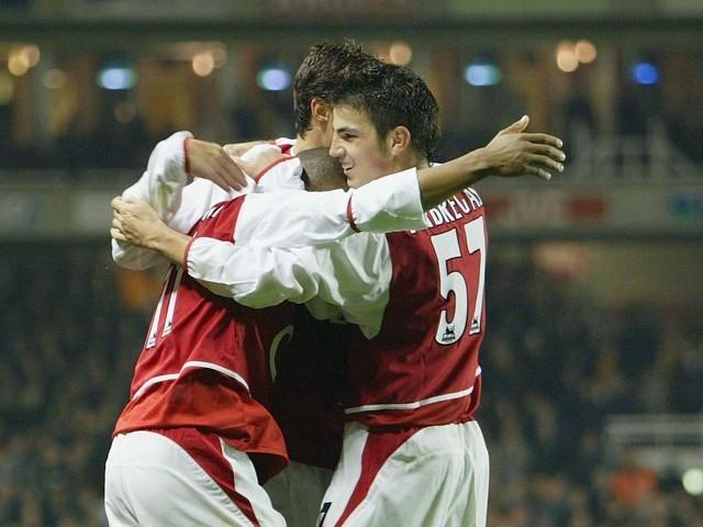 Image result for Cesc Fabregas vs Wolves 2003