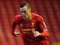 Brad Smith in action for Liverpool in May 2014