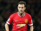 Juan Mata in action for Manchester United on December 2, 2014