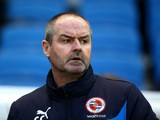 Reading manager Steve Clarke during the Sky Bet Championship match between Brighton and Hove Albion and Reading at The Amex Stadium on December 26, 2014