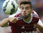 Elliot Lee in action for West Ham on August 9, 2014