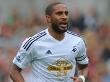 Ashley Williams in action for Swansea on September 20, 2014