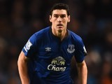 Gareth Barry in action for Everton on December 6, 2014