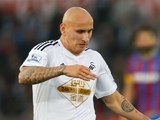 Jonjo Shelvey in action for Swansea on November 29, 2014