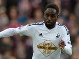 Nathan Dyer in action for Swansea on October 19, 2014