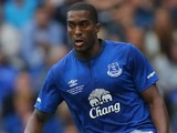 Sylvain Distin in action for Everton on August 3, 2014