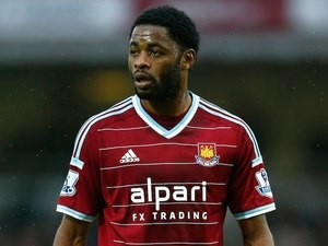 Alex Song in action for West Ham on December 7, 2014
