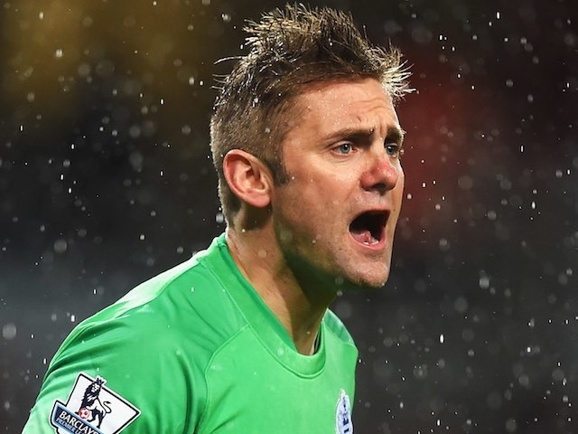 Rob Green in action for QPR on December 26, 2014