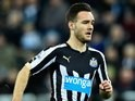 Adam Armstrong in action for Newcastle on January 1, 2015