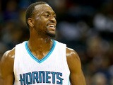 Kemba Walker #15 of the Charlotte Hornets during their game at Time Warner Cable Arena on December 20, 2014