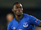 Christian Atsu of Everton FC during the UEFA Europa League match between Everton FC and LOSC Lille at Goodison Park on November 6, 2014