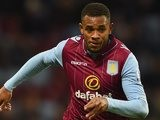 Leandro Bacuna in action for Aston Villa on January 1, 2015