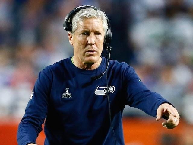Seattle Seahawks head coach Pete Carroll on February 1, 2015