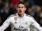 James Rodriguez for Real Madrid on February 4, 2015