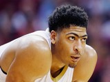 Anthony Davis #23 of the New Orleans Pelicans waits on the court during their game against the Houston Rockets on December 15, 2014