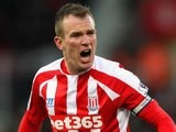 Glenn Whelan for Stoke on January 31, 2015