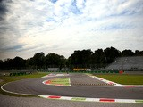 A general view of the circuit during Previews ahead of the F1 Grand Prix of Italy at Autodromo di Monza on September 4, 2014