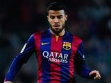 Rafinha for Barcelona on February 11, 2015