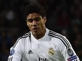 Raphael Varane for Real Madrid on November 4, 2014