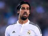 Sami Khedira for Real Madrid on Oc