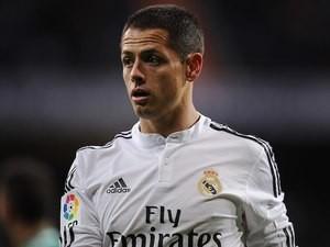 Javier Hernandez for Real Madrid on December 2, 2014