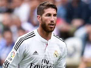 Sergio Ramos for Real Madrid on September 20, 2014