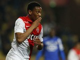 Monaco's French forward Anthony Martial celebrates after scoring a goal during the French L1 football match between Monaco (ASM) and Bastia (SCB) on March 13, 2015
