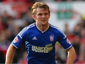 Jay Tabb for Ipswich Town on October 5, 2014