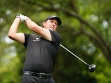 Phil Mickelson during the final round of The Masters on April 12, 2015