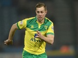 Steven Whittaker for Norwich City on March 17, 2015