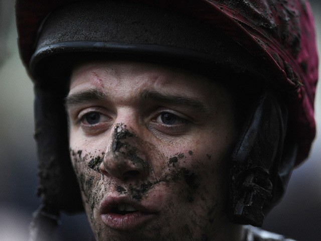 Davy Condon poses at Ascot racecourse on December 22, 2012