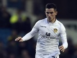 Leeds United's Lewis Cook in action during the Sky Bet Championship match between Leeds United and Fulham at Elland Road on December 13, 2014