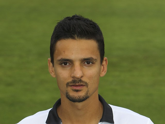 Felipe poses during the official Parma FC portrait session at the club's training ground on August 21, 2014